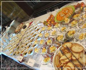 ホテル サ・マンハッタンのランチブッフェ。お手頃価格で美味しいです♪