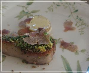 富里「Cucina Tokionese Cozima」にて、仔羊&白トリュフ~♪