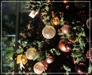 グランドハイアット東京のクリスマスツリー
