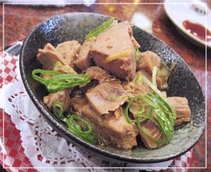 「銚子丸」でまぐろの角煮。……レアアイテム??