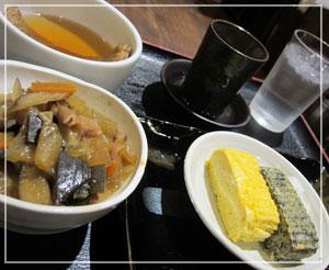 「東京麺通団」にて、酒と肴ー!しあわせー!