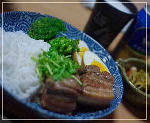 豚肉と卵のナンプラー風煮込み~