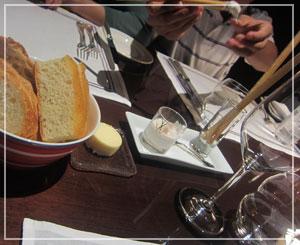 「CERISE by GORDON RAMSAY」にて、親しみやすい味のカナッペから。