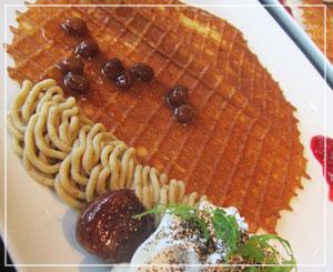 「神戸カプチーノ倶楽部」にて、初めて食べた「クレール」