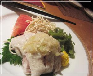 ホテルオークラ東京の飲茶食べ放題。夜の前菜盛り合わせがこちら。