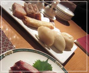 ホテルオークラ東京の飲茶食べ放題。大根餅、咸水角、春巻、叉焼。幸せ~♪
