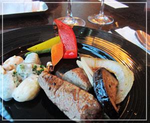 ウェスティンホテル東京のクリスマスブッフェ。牛肉、うまっ♪