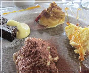 富里「Cucina Tokionese Cozima」にてデザート「全部盛り」♪