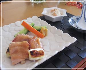 上品な味わいの西京焼き。箸休めの蓮根も美味しい……♪