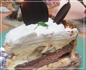 妖精さん並べつつ、美味しいケーキ♪