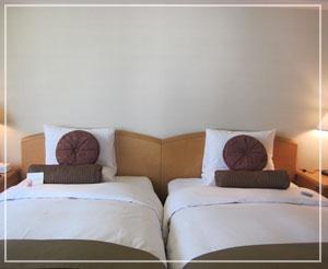 ホテルオークラ東京、和風モダンな落ちついた客室