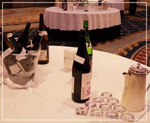 「雄町サミット」にて、懇親会会場に到着~。酒!酒!