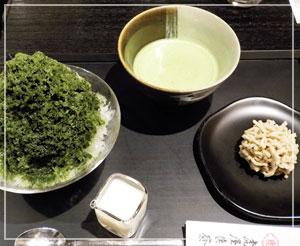 天ぷらとかき氷は、悪い食べ合わせとは言うけれど……幸せ。
