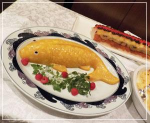 帰りがけにすれ違ったフルサイズ金魚マンゴープリンを撮影!