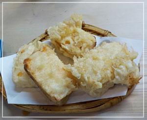 高円寺「天すけ」にて、こちらは「あんきもとうふ」。あん肝+豆腐じゃないのよ、あん肝味の豆腐なのよ。
