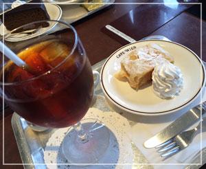 千葉「カフェウイーン」で、ランパスカフェ♪