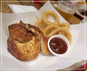 「Maui Mike's」のローストチキン。期待以上に美味しかったー!