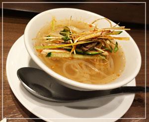錦糸町「牛8」にてクーポンディナー。シメは可愛いサイズの冷麺とー
