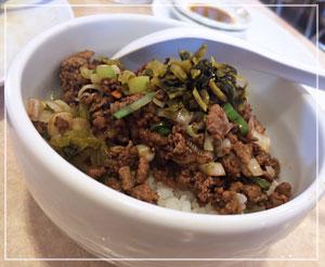 「中華風ミニそぼろ丼」も美味しかったのでした。