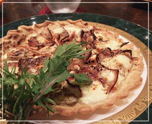 津田沼「ラシェットM」にて、甘くてしょっぱい、不思議なピッツァ。