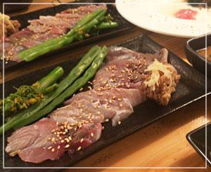 津田沼「鈴家」にて、信州の美食コース、「鯉こく」。これ、すっごく美味しかった。