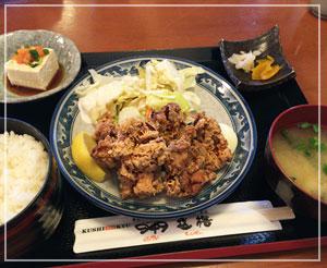 津田沼「949」にて、ランチ定食~。