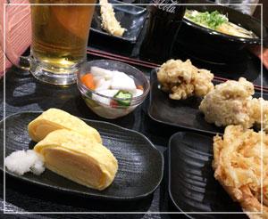 「麺通団」は、うどん前の酒と肴も幸せなんです。