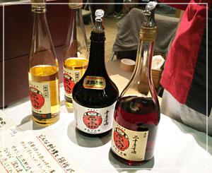 「熟成古酒ルネッサンス2016」にて、達磨正宗の白木酒造さんのブース。