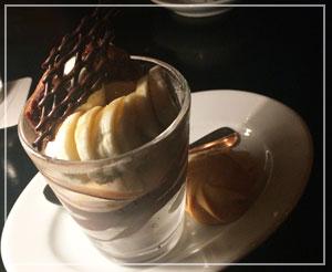 ソフトアイスクリームサンデー。とっても大人な味のサンデー。