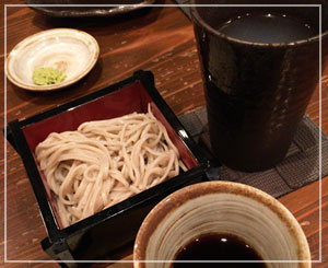 「ふなばシル!!」5店舗目は、シメのお蕎麦を「道らく」さんで食べました。
