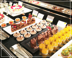 スイーツブッフェが人気のウェスティンだから、当然デザートコーナーもこの素晴らしさ?