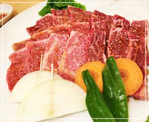 どのお肉もサシがたっぷり、とろける口当たり。