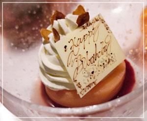 だんなのデザート、ピーチメルバ。桃が甘くて最高でした。