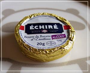 ボルディエに倣ってか、エシレでも海藻バターが。