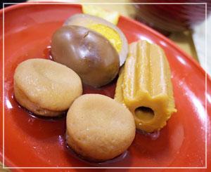 卵の色合いが大変にすばらしい、「日本橋お多幸本店」のおでん♪