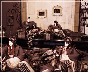真っ黒な雛人形が衝撃的だった後藤由香子さんの追悼個展を見てきました。美しい……!