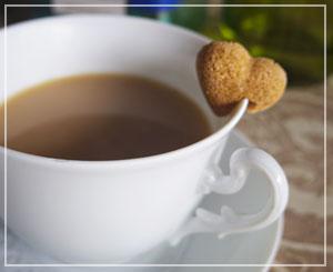普段はコーヒー紅茶に砂糖は入れない派だけれど、この砂糖は可愛かった……!