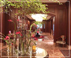 英国邸宅風のホテルは、どこもかしこも絵になります