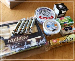 「ハイ食材室Paris」の乳製品福袋。かなりわくわくします。