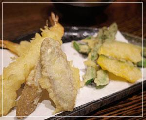 海老を献上すると毎回本気でだんなに驚かれてしまう、天ぷら。