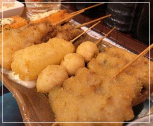 今夜は歌舞伎町で串カツを