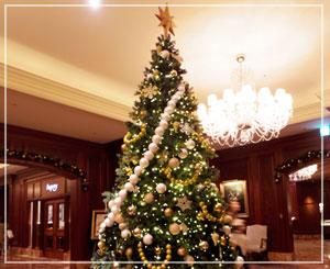 11月半ばでクリスマスツリー見られるとは思わなかったな。館内はもうクリスマス一色のリッツカールトン大阪。