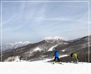 天気は最高でした。うん、やっぱり気分は春スキー。