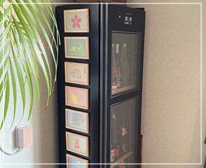 一気に日本酒冷蔵庫が賑やかなことに……。