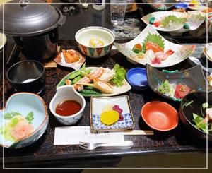 那須湯本温泉「旅館山快」さん。料理も良い感じ♪