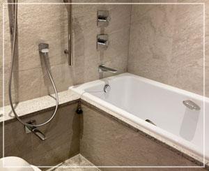 最近は洗い場付きの和式なお風呂も増えてきましたよね。これが嬉しい……♪