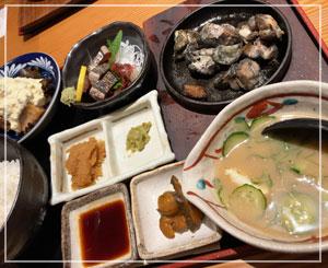 揚げ物とか濃い味とかがちょっと恋しかったらしいです……最後の昼御飯。