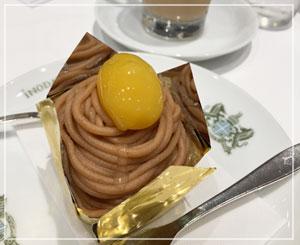 プリンは大人気と再認識したイノダコーヒー。ケーキも美味しいよ。